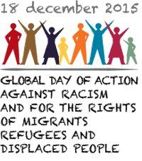 Logo 18.12. gegen Rassismus