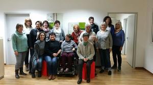Foto der Bündnisfrauen bei der Gründung des Frauenbündnisses gegen Altersarmut
