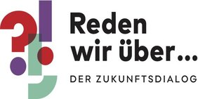 Logo der Kampagne Zukunftsdialog