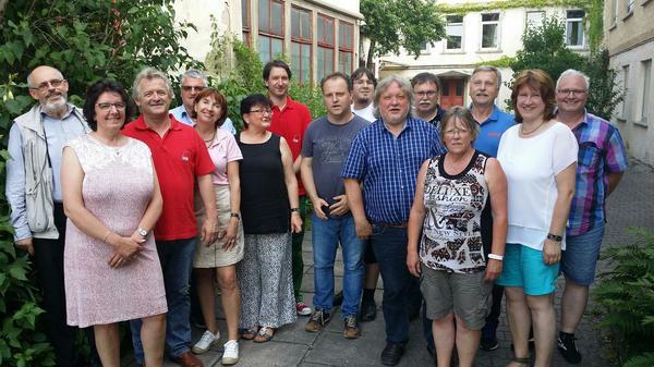 Mitglieder des DGB-Kreisverbandes KH und Gäste