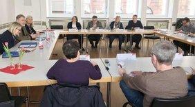 Austausch Gewerkschaften - ev. Kirche Rheinhessen