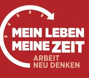 """Logo der IGM-Arbeitszeitkampagne """""""