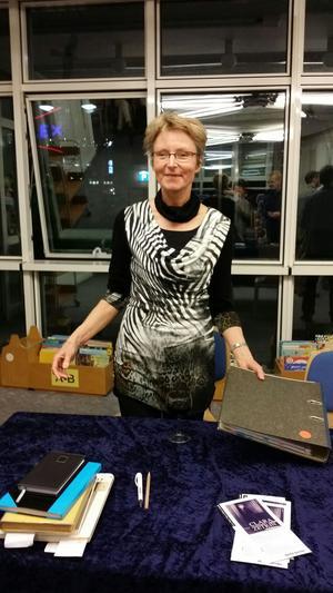 Die Autorin Marga Voigt aus Berlin