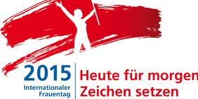 Logo internationaler Frauentag