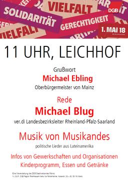 Teaser Bild 1. Mai in Mainz