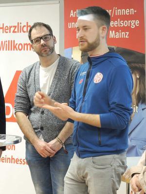 Sebastian Hamann und Ben Praße