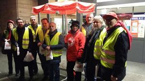 Aus der Politik wurden die DGB-KollegInnen unterstützt von Hans-Dirk Nies (1. Kreisbeigeordneter und SPD-Kreisvorsitzender Bad Kreuznach), Dr. Denis Alt (MdL und SPD Direktkandidat im Wahlkreis Kirn/Bad Sobernheim), Michael Simon (SPD Direktkandidat im Wahlkreis Bad Kreuznach ) und Jörg Lobach (Dirktkandidat der Linken im Wahlkreis Bad Kreuznach).