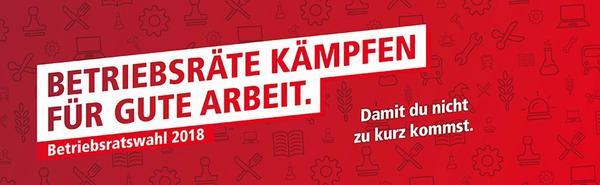 Logo der Betriebsratswahl 2018